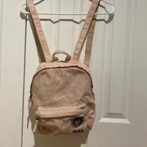 Light pink vans backpack